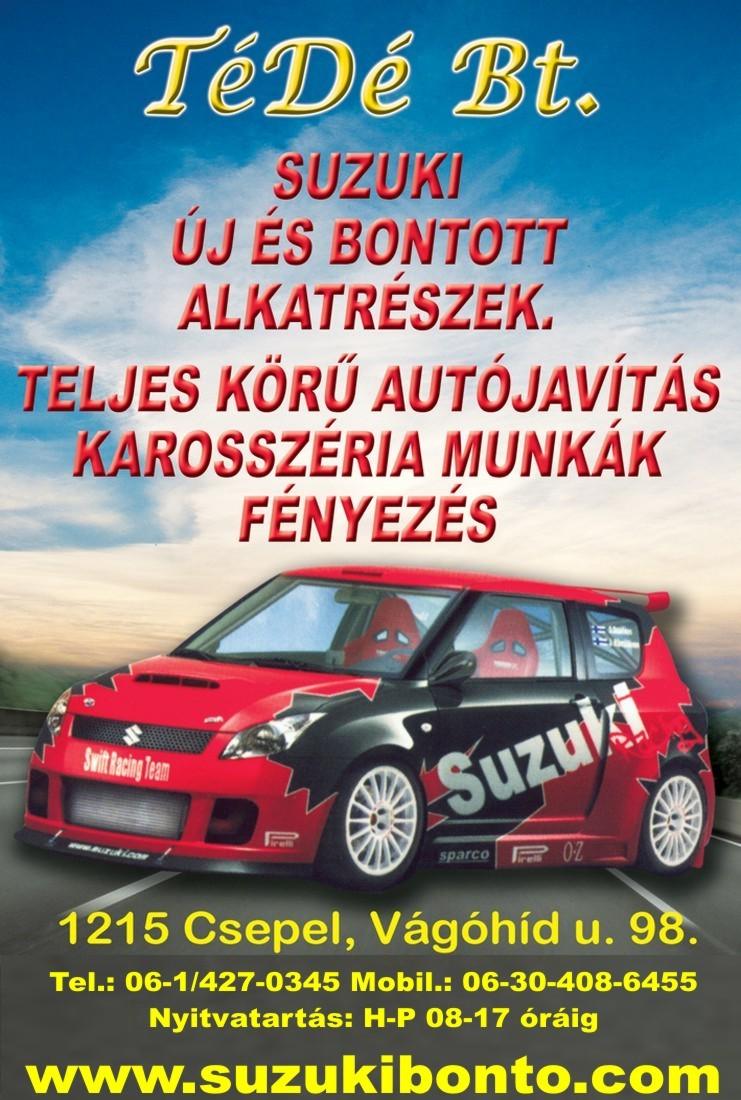 autószőnyeg | Suzuki | 19 bontott és új alkatrész